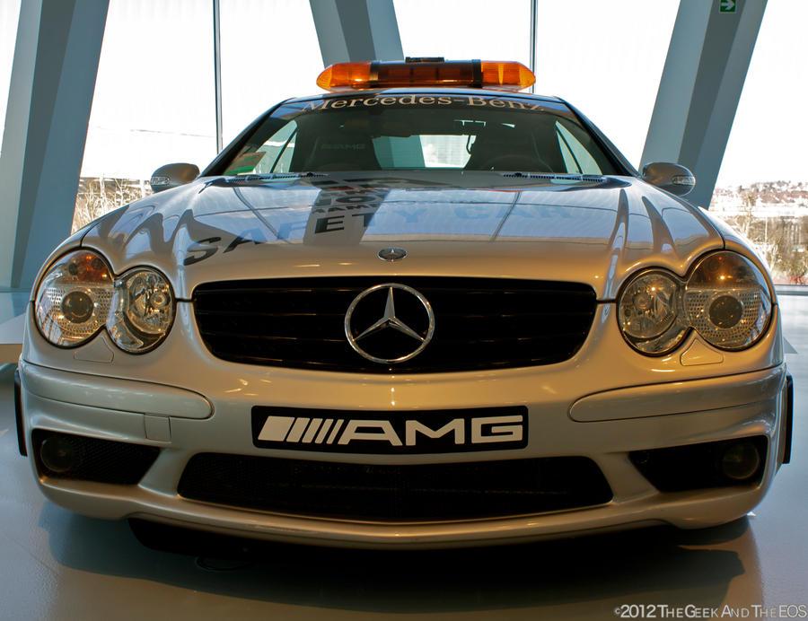 Mercedes Benz Sl 55 Amg Safety Car I By Thegeekandtheeos