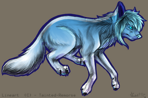 [CLOSED] Ice Wolf Adopt - 1 point by Gingerpatch-59