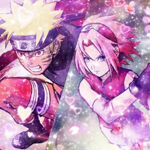 NaruSaku (Nine-Tails Berserk and Cherry Blossom)