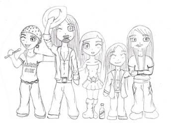 Nightwish sketch by Eydas