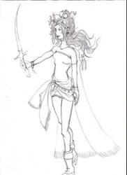 Terra-Tina from Dissidia by Eydas