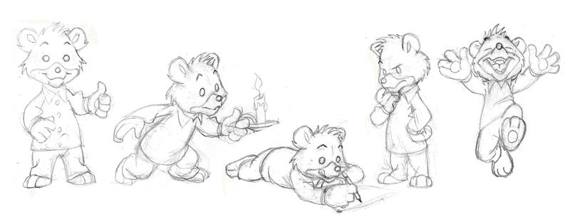 Bears, Oh My by Toonicorn