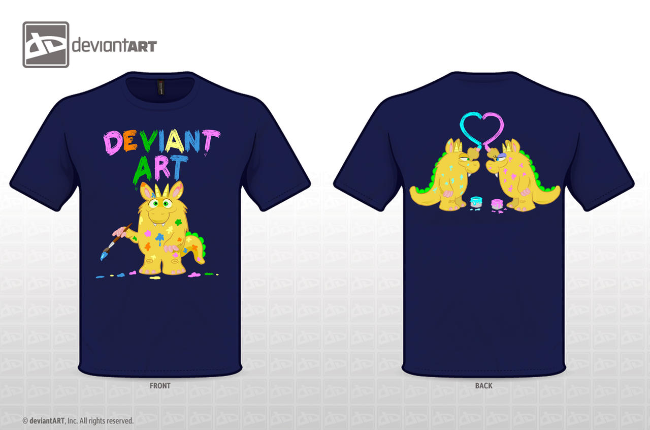 Dabble - Cute Monsters T-Shirt contest by Toonicorn
