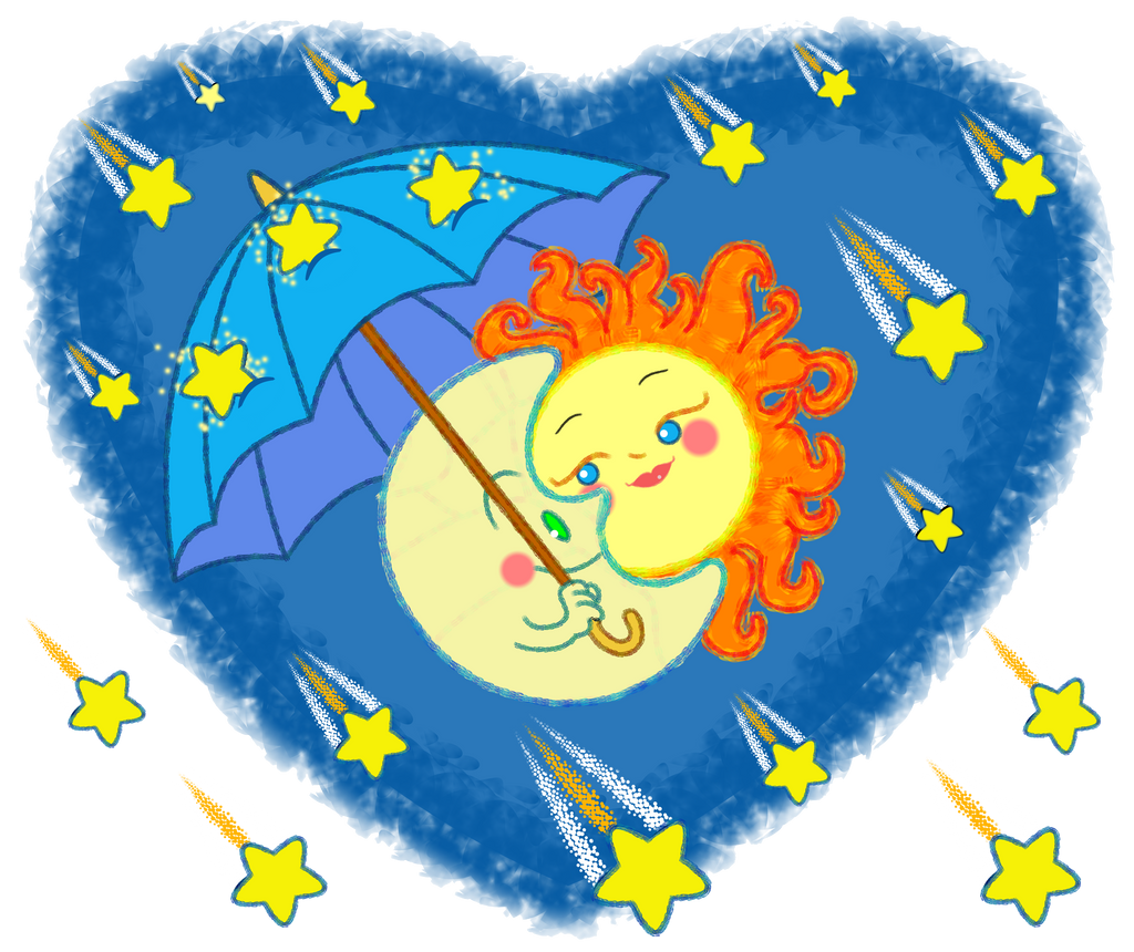 Meteor Shower by Toonicorn