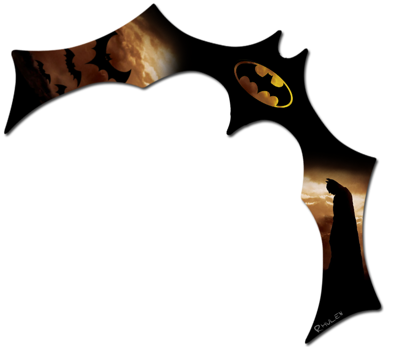 Как сделать бумеранг бэтмена