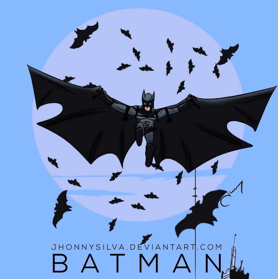 Mini Batman by JhonnySilva