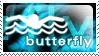 I Swim Butterfly by Kay-double-O-Zii