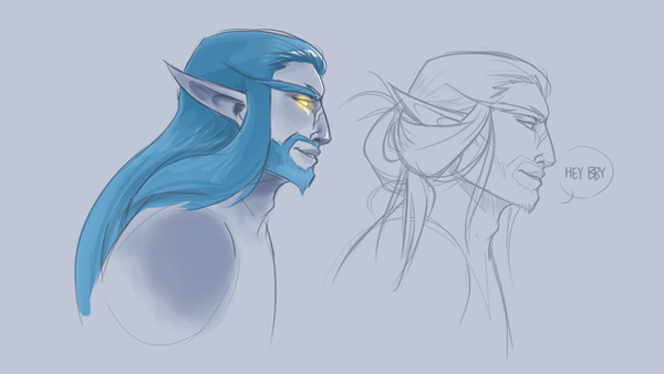 Cylan Man Buns by Kay-double-O-Zii