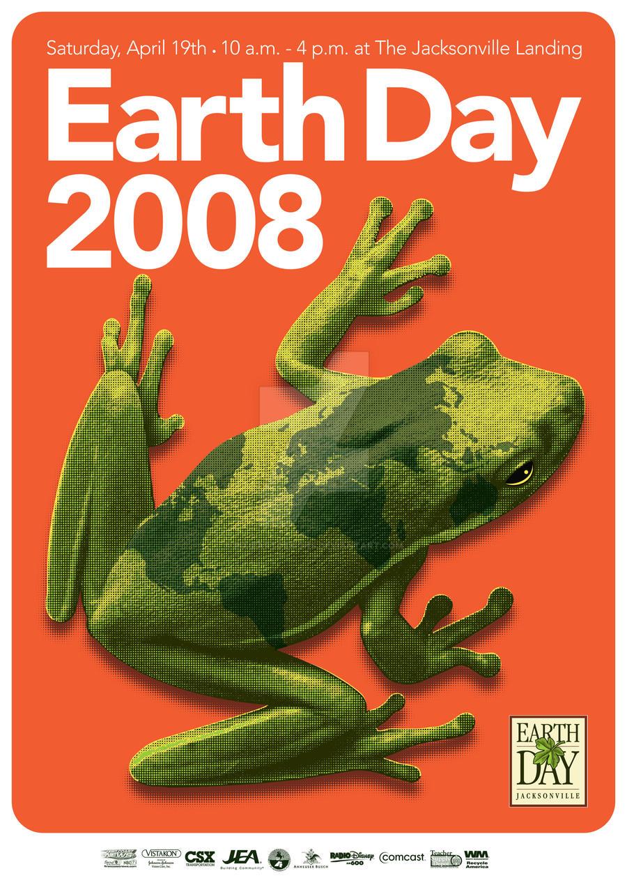EarthDayJacksonville 2008 Poster Art by pixieartdesigns
