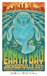 EarthDayJacksonville 2011 Poster Art