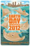 EarthDay Jacksonville, FL 2012 Poster art