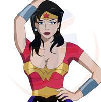 Wonder Woman artwork by JTSEntertainment