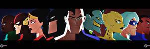 Justice League vs Legion of Doom artwork by JTSEntertainment