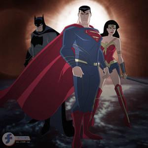 Batman v Superman - DCAU Style