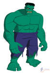 The Hulk - Bruce Timm style