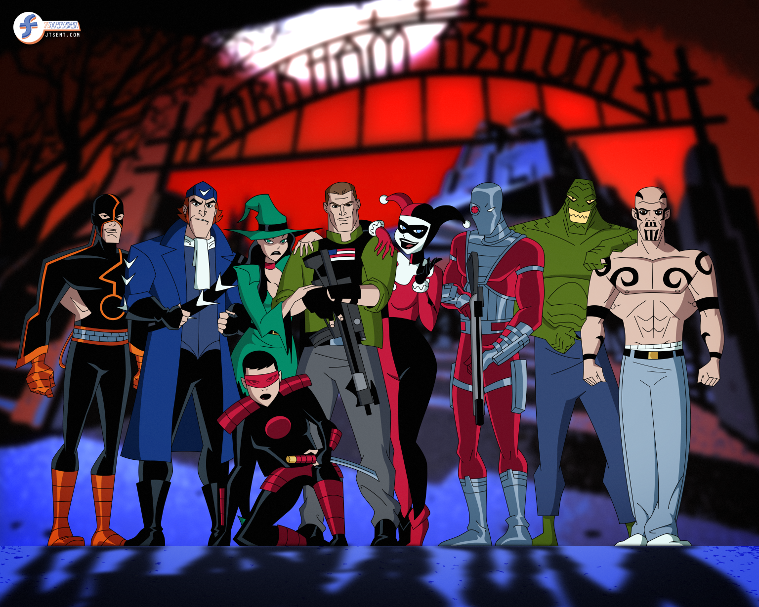 Suicide Squad - Bruce Timm style by JTSEntertainment on ...