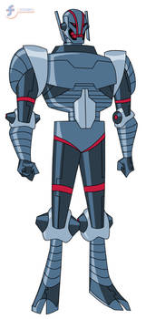 Ultron - Bruce Timm style