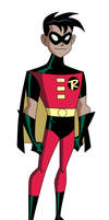 Robin - Justice League Unlimited (mock-up) by JTSEntertainment
