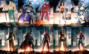 UNITE 2001 - Justice League Collage