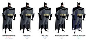 Batman - TNBA Variations