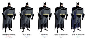 Batman - TNBA Variations