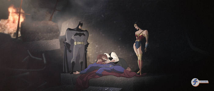 Death of Superman - JL Fan Art Contest Entry