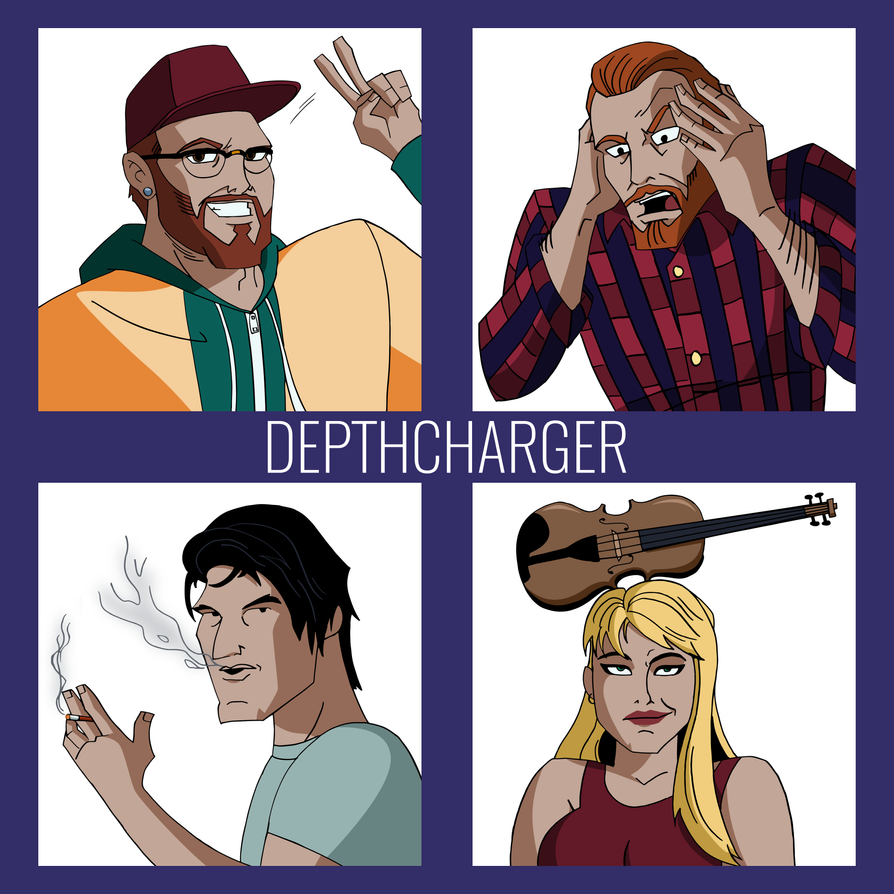 Depthcharger Promo Art | COMMISSION by JTSEntertainment