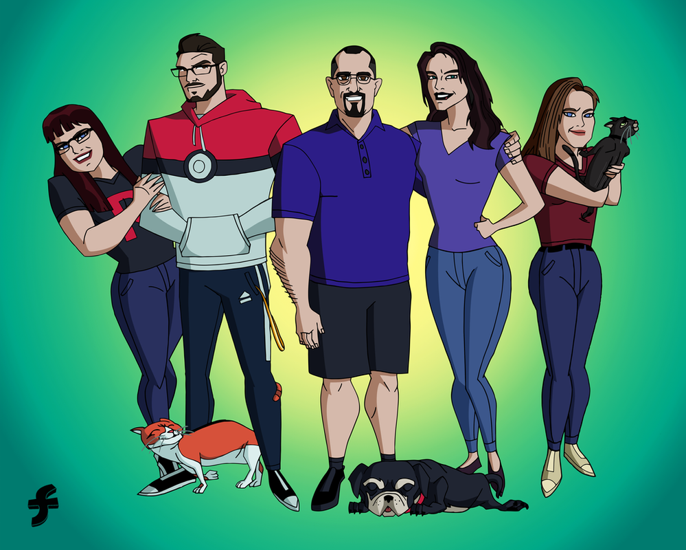 The Strecker Family   COMMISSION by JTSEntertainment