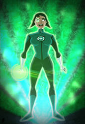 Jessica Cruz - JL vs the Fatal Five
