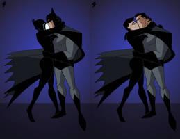 Batman-Catwoman Kiss