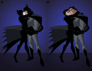 Batman-Catwoman Kiss