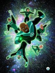 Green Lantern Corps DCAU