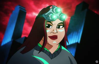 Jackie Fisher (Batman/Splinter Cell) | COMMISSION
