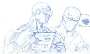 GIJoe Ninja Popularity Contest by thejeremydale