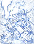 Thor scribble