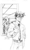 Peter Parker Spidey commission