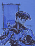Nightwing sketch commish