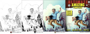 AMAZING Lee+Bendis PROCESS by thejeremydale