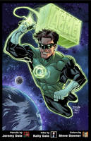 Green Lantern FCBD colors