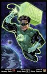 Green Lantern FCBD colors
