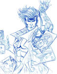 Gambit and X-Men JAM SKETCH