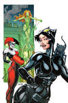 Catwoman Harley Ivy colors