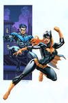 Batgirl Nightwing colors