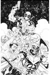 HEROES Deadpool Taskmaster INK