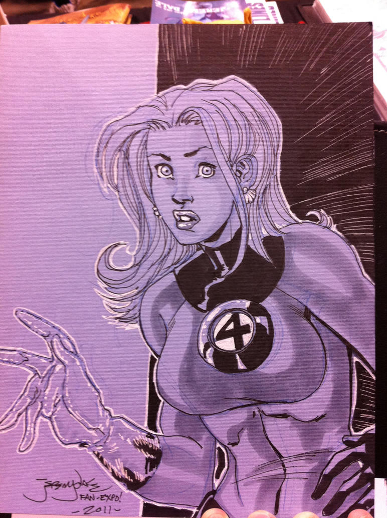 Invisible Woman Fantastic 4 by thejeremydale