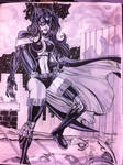 Huntress con sketch