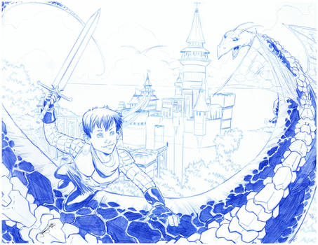 The Child Knight and the Dragon
