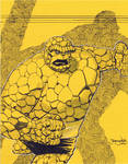Ben Grimm The THING for ECCC 2012