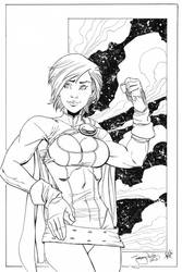 Power Girl for C2E2 2012 by thejeremydale