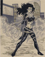 Hawkeye commission for SDCC 2013 by thejeremydale